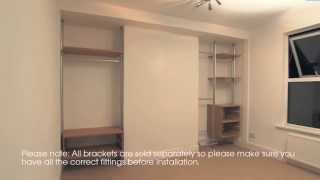 Fitted Bedroom - How To Install Built In Fitted Wardrobe Furniture