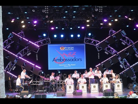 Disney's 2018 Flower and Garden AP Merchandise and the US Army Field Band Jazz Ambassadors!