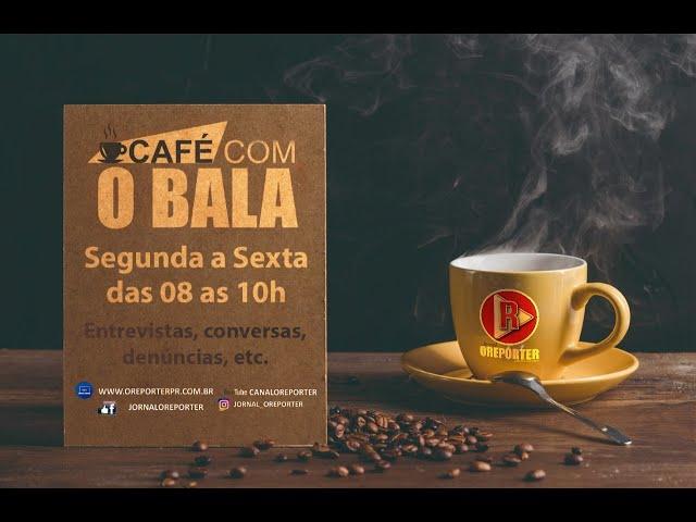 Nesta quinta-feira (03/12) no Café ☕ com o Bala 🍬