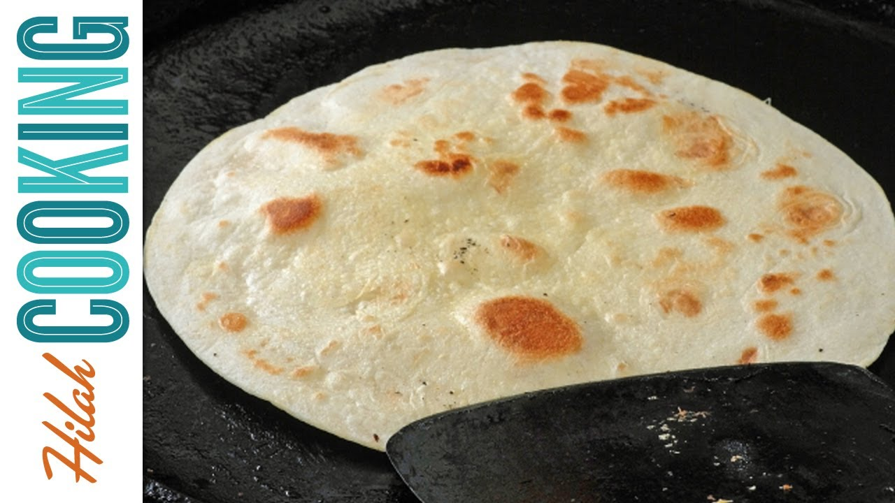 Tortilla Recipe How To Make Homemade Flour Tortillas Hilah Cooking Ep 20 Youtube