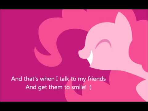 Smile, smile, smile! - Pinkie Pie - Lyrics