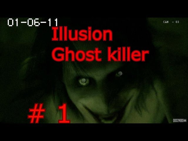 Scary game Illusion Ghost killer | Jeff the Killer is back!