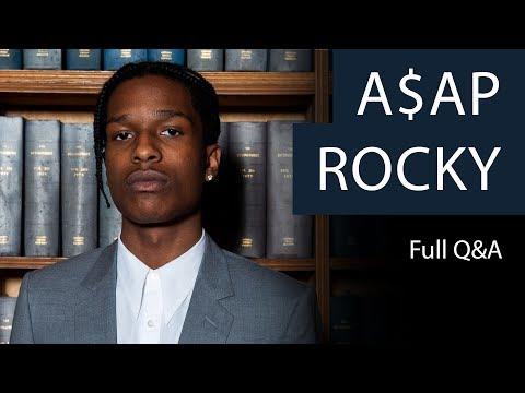 A$AP Rocky - Full Q&A