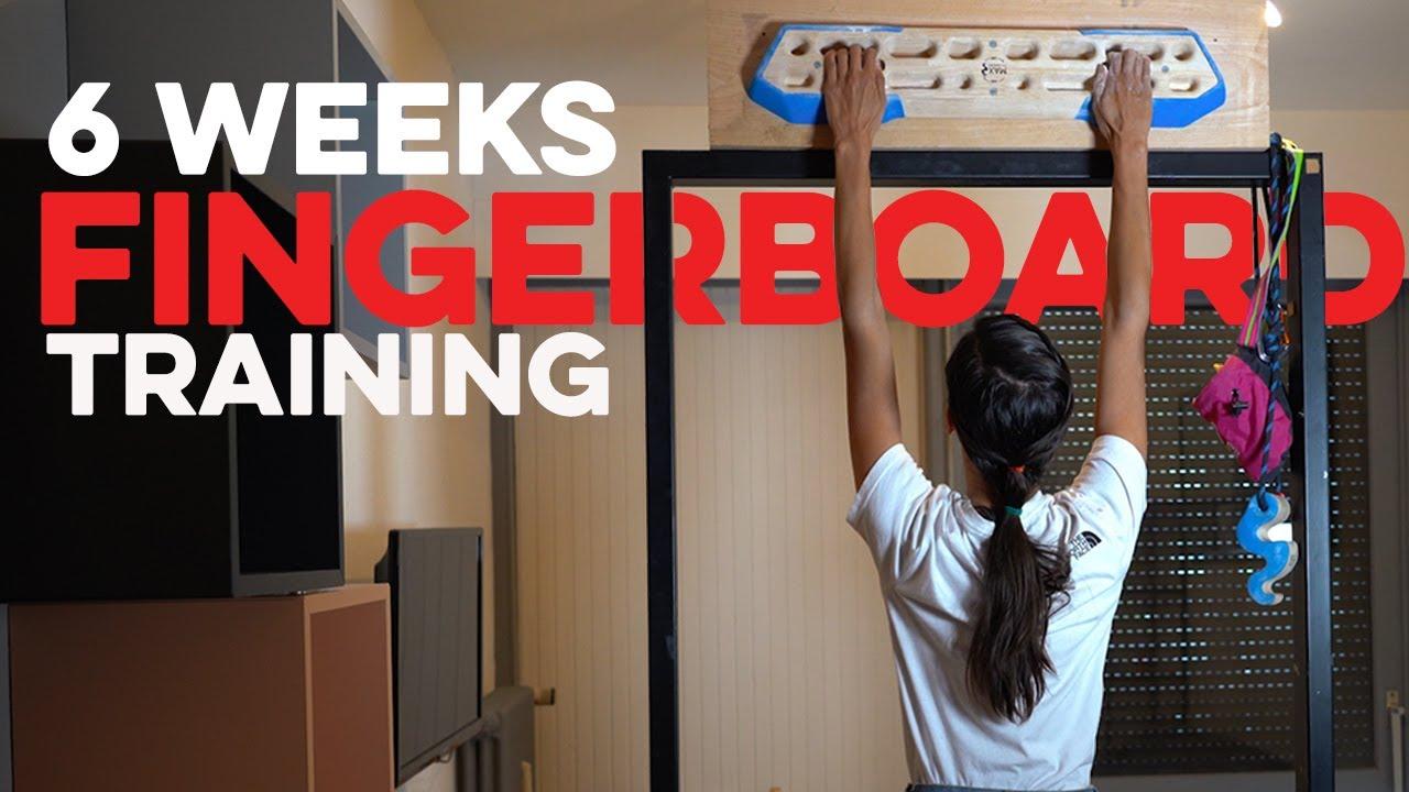 My 6 Week Fingerboard Challenge To Get Stronger