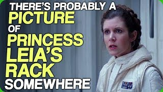 There's Probably a Picture of Princess Leia's Rack Somewhere (T-Pose Leia Strikes Back)