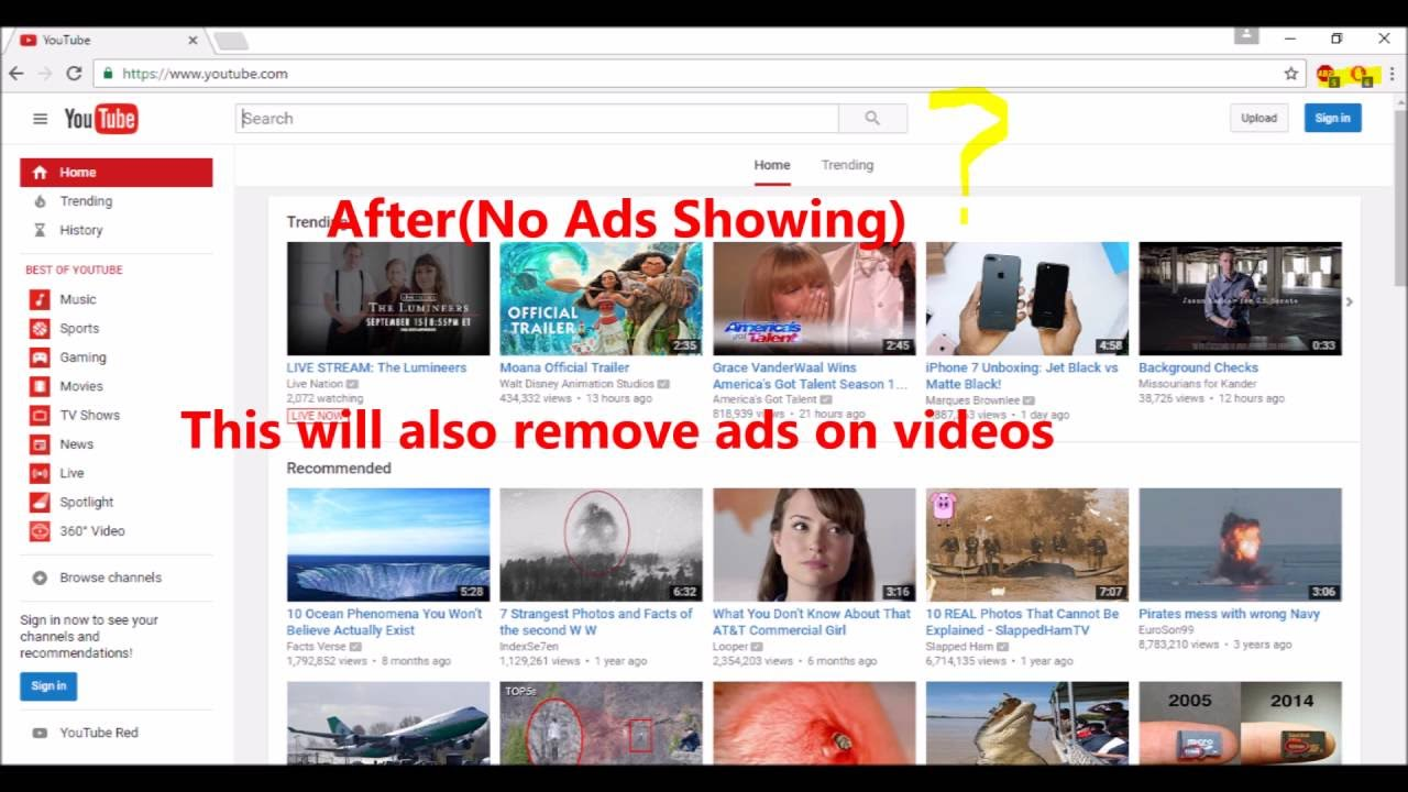 How to surf the internet without ads youtube how to surf the internet without ads ccuart Images