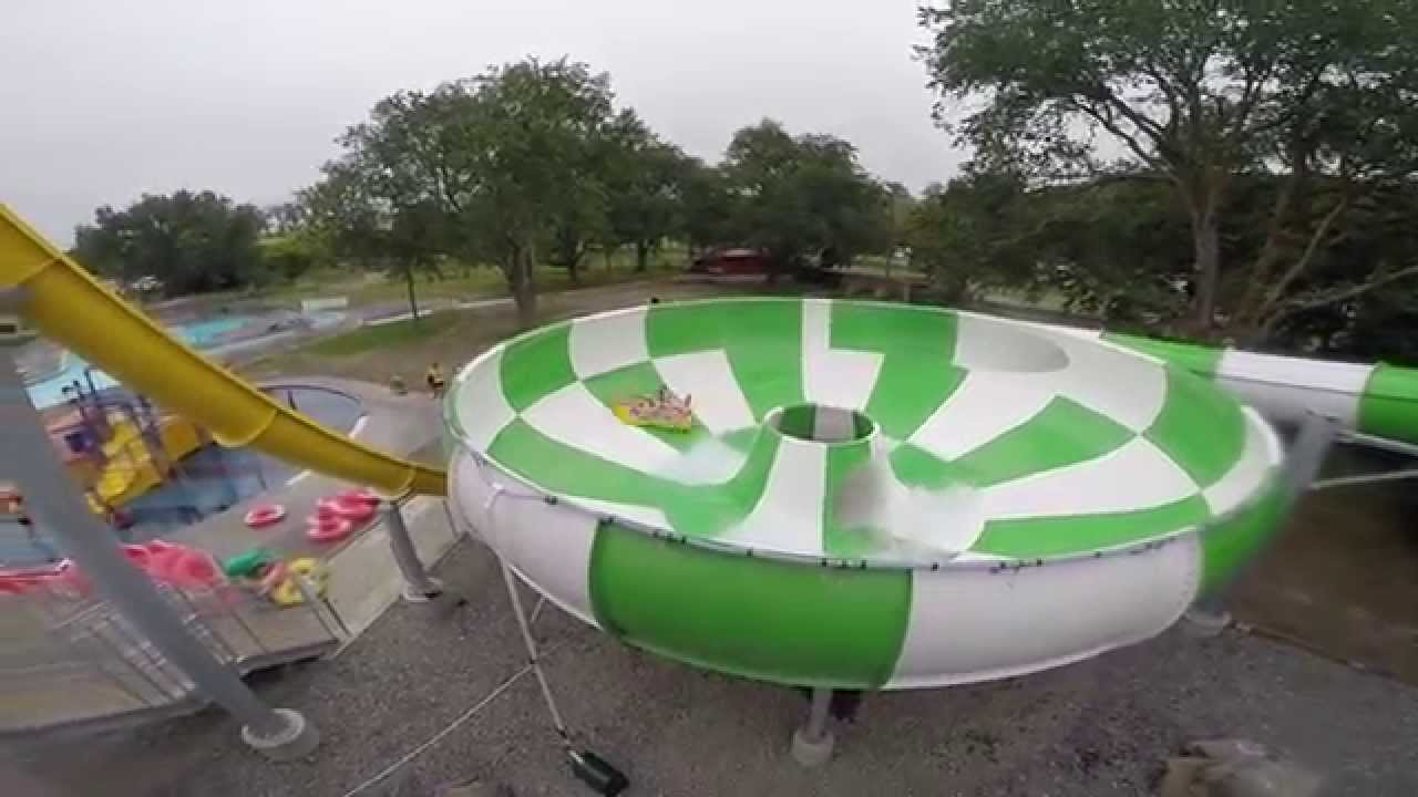 New lido slides experience gopro youtube for Palmerston north swimming pool