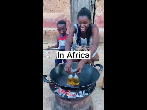 Viral African Cooking in village 😱😱🤣🤣