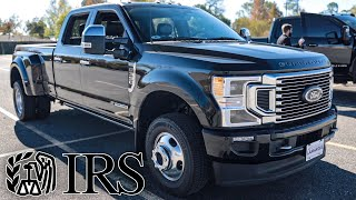 The IRS forced me to buy a 2020 Ford F350 Platinum...