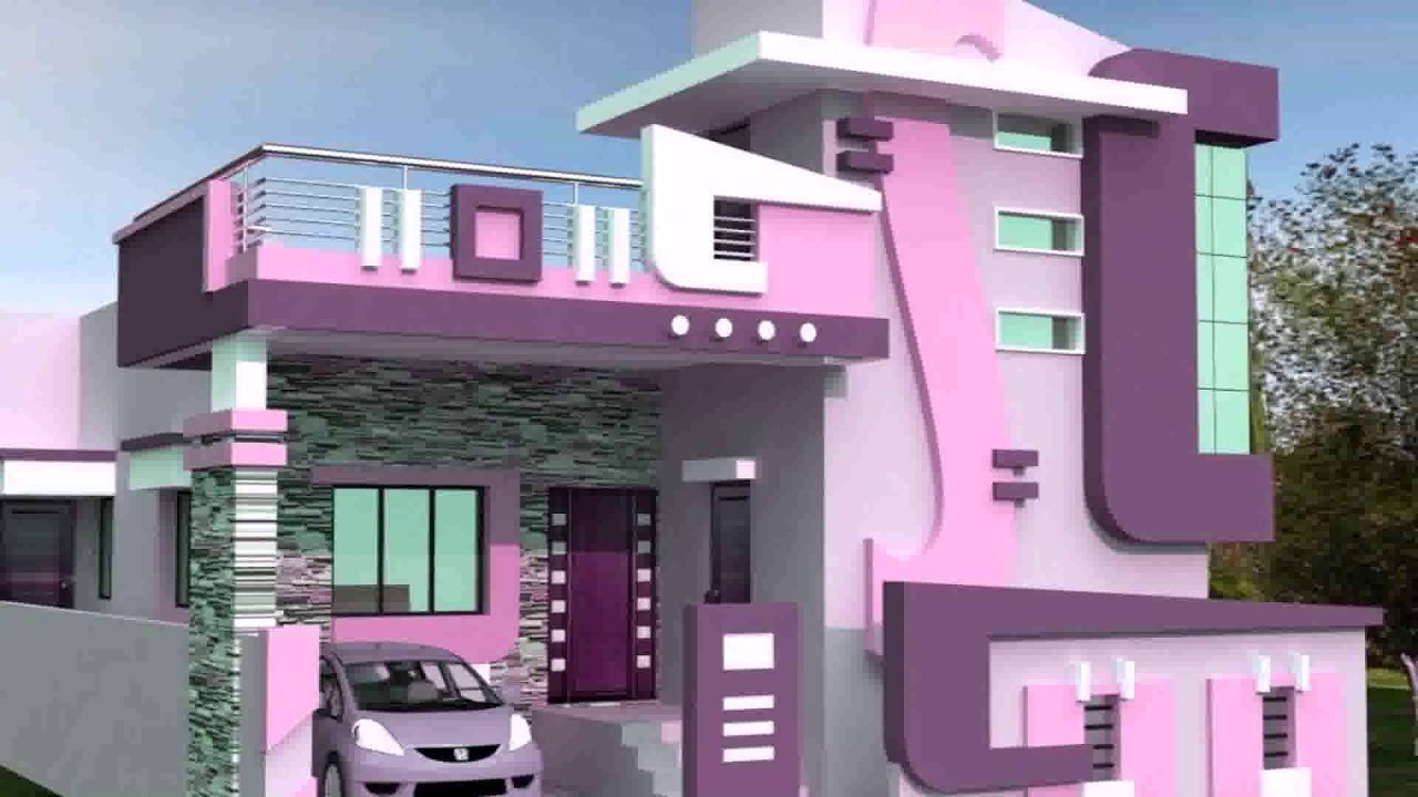 Stair Design For Small House Outside Youtube   Outside Stair Design For Small House   2 Story   Cement Stair   House Chennai   Residential   Stair Room