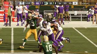 Madden NFL 19 Making Packers Quit