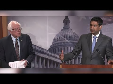Rep. Ro Khanna Denounces Support for Saudis in Yemen and Interventionist Foreign Policy