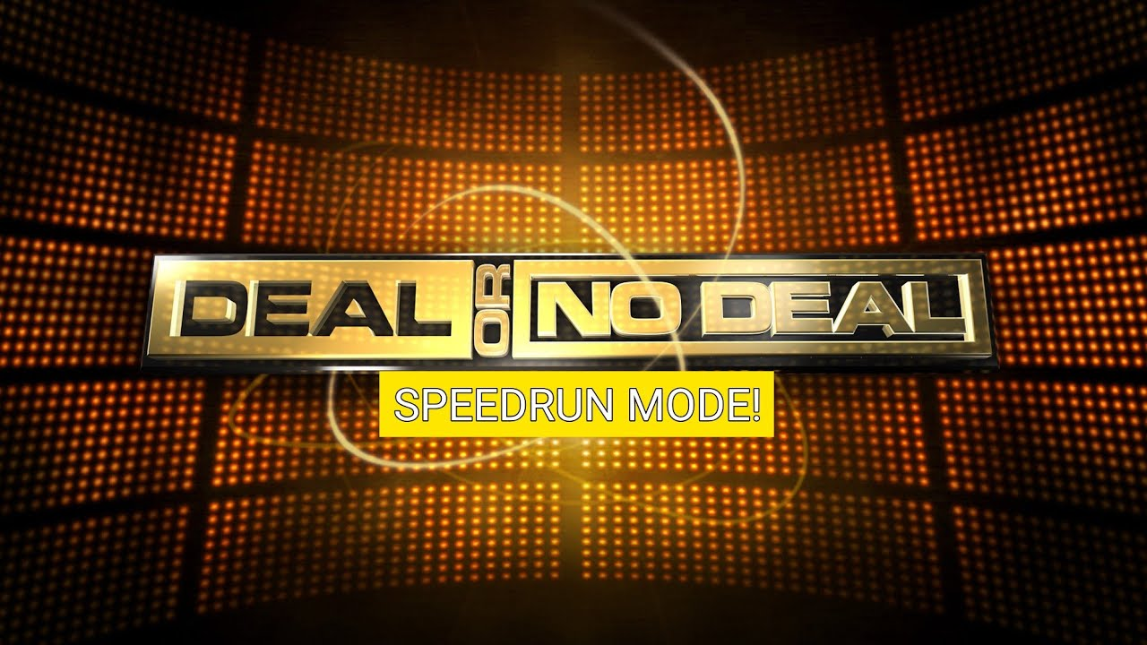 Download Deal: SPEEDRUN MODE! Ep. 21, Goretty Madirez's game in 1:17