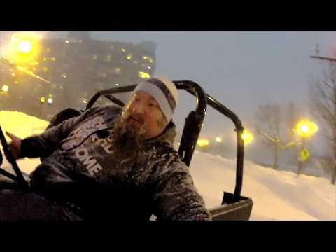 Blizzard 2016 - Winter Storm Jonas - Jeep Donuts in Washington, DC