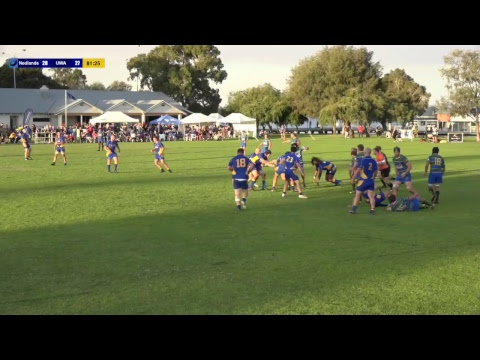 Fortescue Premier League Rnd 5 Nedlands v UWA