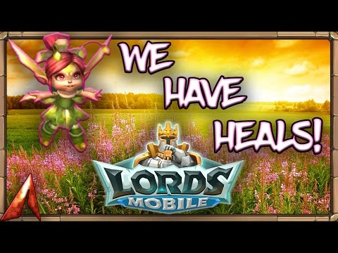 Lords Mobile: We Got Heals! Skirmish 3 And 4!