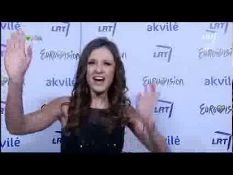 """Eurovision 2014 Lithuania @ Ieva Zasimauskaitė atliko Pink dainą """"Dear Mister President"""""""