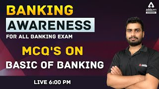 1. MCQ's on Basic of Banking   Banking Awareness for All Banking Exams
