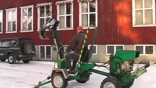 Hultdins grävare - excavator