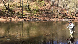 """Casting Dania Flyrods speyrod """"HolloCane The seatrout"""" - a 10 feet ..."""