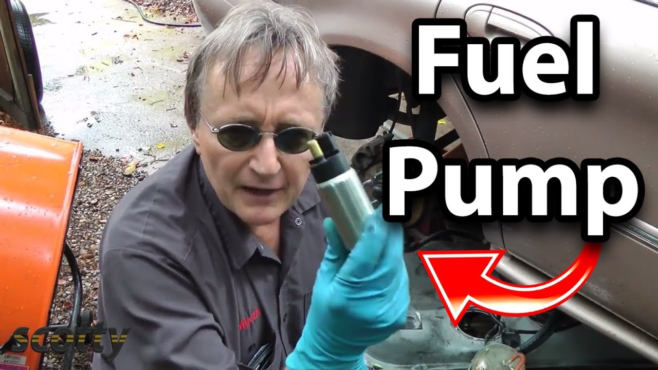 How To Replace A Fuel Pump In Your Car Youtube 2008 Mitsubishi Lancer Filter