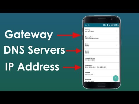 How To Find Gateway, IP Address, DNS Servers On Your Android Phone