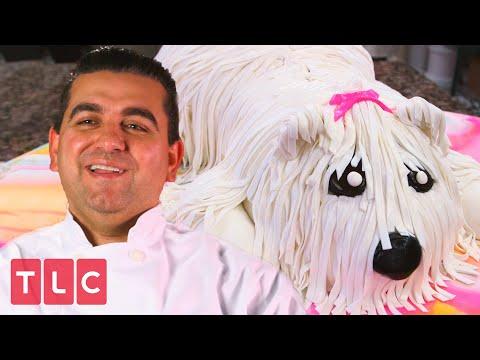 Making a Dog-Shaped Cake!   Cake Boss