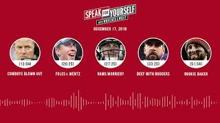 SPEAK FOR YOURSELF Audio Podcast (12.17.18)with Marcellus Wiley, Jason Whitlock | SPEAK FOR YOURSELF