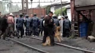 Рейдерский захват шахты Белозерская  Съемка 3