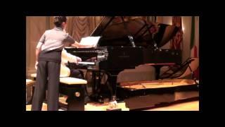 """Silvio Celeghin plays Schumann op.56 n. 5 with Doppio Borgato in """"Gran Teatro La Fenice"""" - Venice"""
