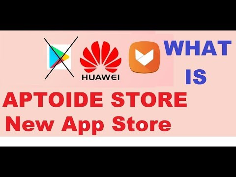 Huawei is in talks with Aptoide to replace the Google Play Store blocked on Huawei Mobiles