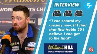 Luke Humphries on CONTROLLING his anxiety and BIG chance against Kim Huybrechts