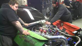 PSI Motorsports Drag Radial Mustang Cobra Dyno Test and Tune
