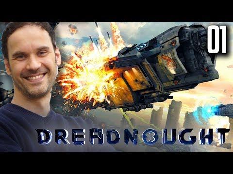 1 Runde mit Dreadnought mit Dennis
