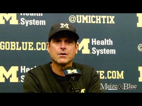 Harbaugh discusses offensive and special teams flaws post-Colorado