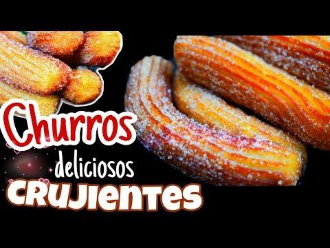 CHURROS caseros FÁCIL👌ECONÓMICOS y DELICIOSOS/DULCE HOGAR RECETAS