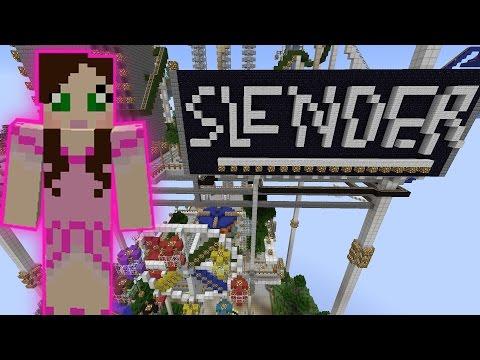 Minecraft: SKYTASTIC PARK - SLENDERMAN RIDE