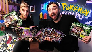 EPIC BATTLE OUVERTURE DE BOOSTERS POKEMON MICHOU vs DAVIDLAFARGEPOKEMON PARTIE 1