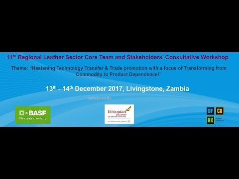 Africa Leather and Leather Products Institute Annual Consultative Forum 2017