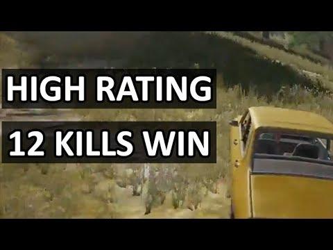 EU Solo Game #3 | 12 Kills Win | Feat. DragoGo | [Rank: #3 - Rating: 2485]