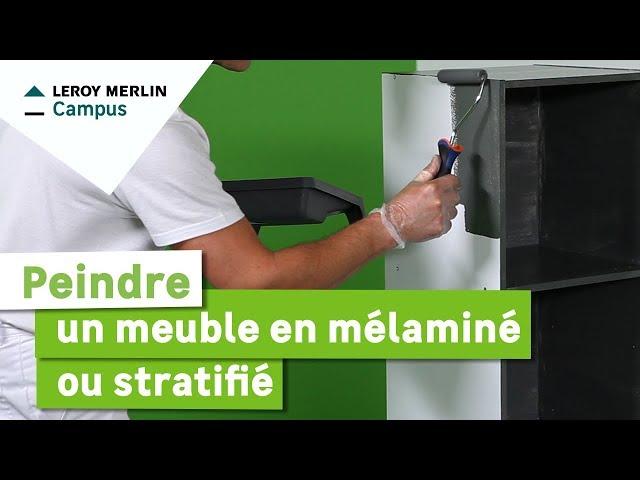 Lm vid os leroy merlin for Peindre sur melamine