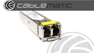 Módulo Mini-GBIC SFP 1000Base-ZX monomodo 80Km 1550nm distribuido por CABLEMATIC ®