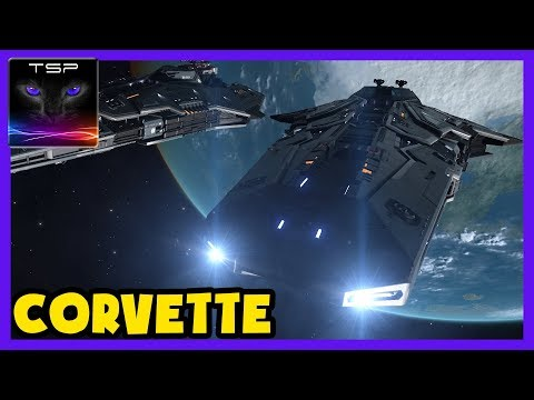 Elite Dangerous ► Buying the FEDERAL CORVETTE + Outfitting & Bounty Hunting