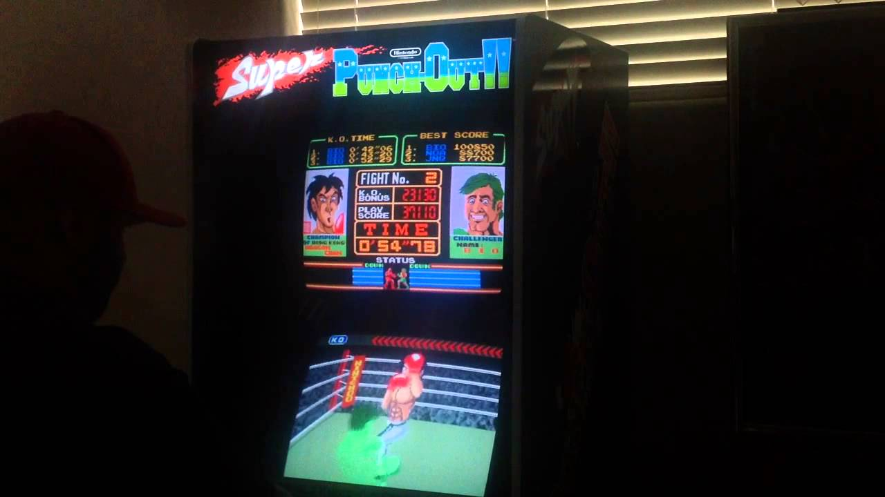 Testing out my Restored Super Punch-Out Arcade - YouTube