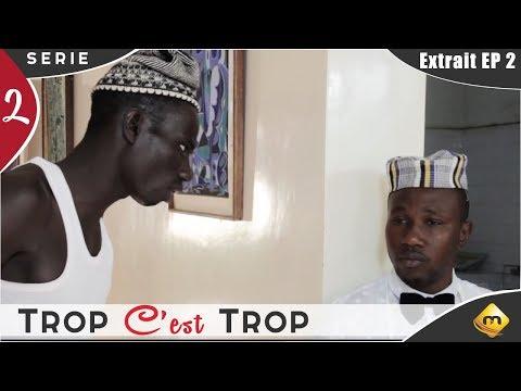 Série -TROP C'EST TROP - Combé se moque de Manioukk