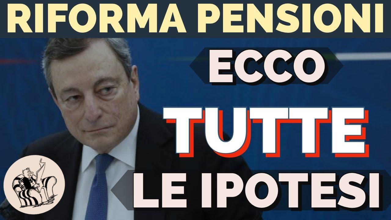 ECCO TUTTE LE OPZIONI DISPONIBILI PER LA RIFORMA DELLE PENSIONI 👉 FINE  QUOTA100 - YouTube