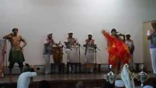 Apresentação Grupo Cultural Luz de Odara no 3º Festival Batuqueiros da Luz