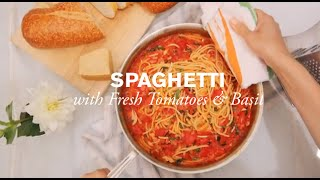 Spaghetti With Tomatoes & Basil | Farm To Table Family | Pbs Parents