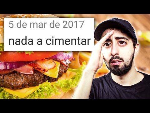PIORES COMENTÁRIOS - APP DE COMIDA