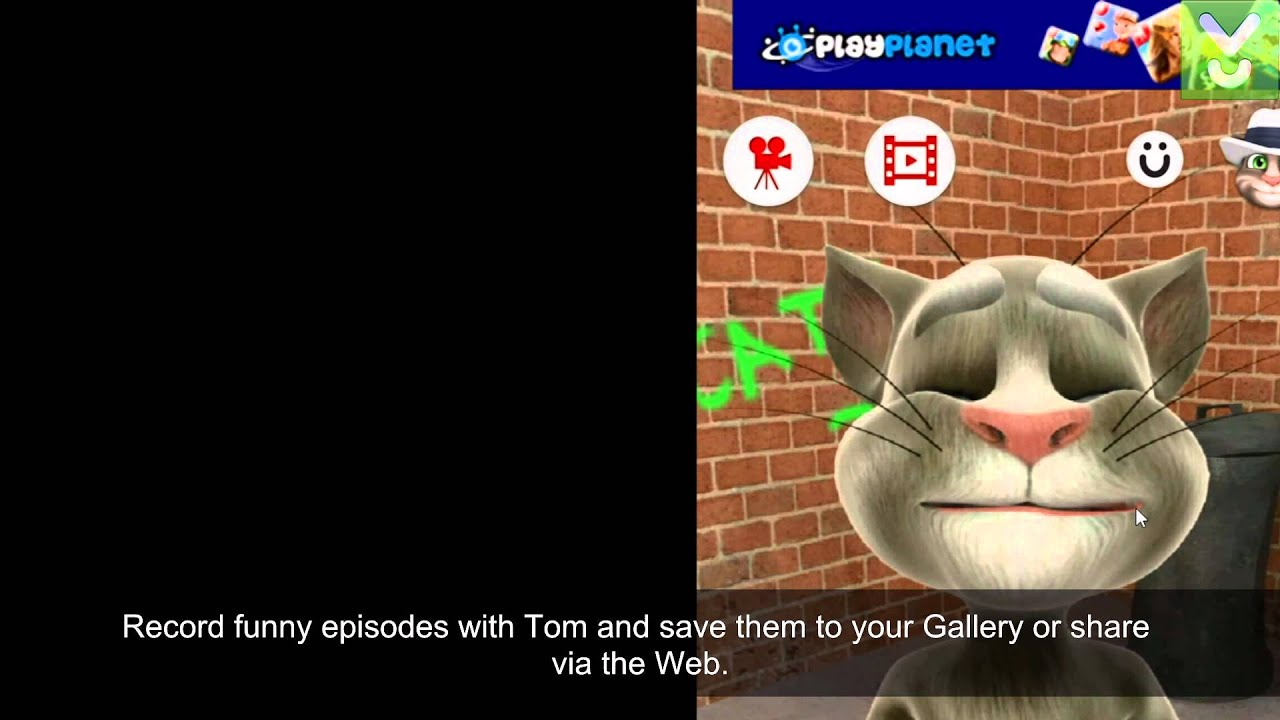 Talking Tom Cat for Android - Have fun with Talking Tom - Download Video  Previews